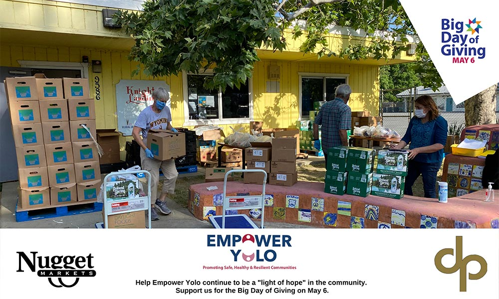 Big Day of Giving Empower Yolo